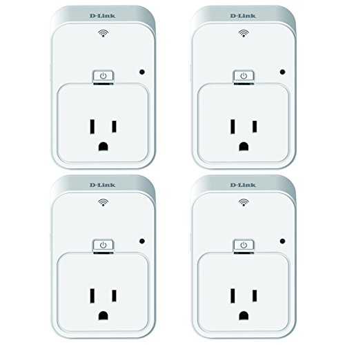 D-Link Wireless Smart Plug (DSPW215) (4 Pack)