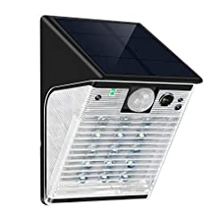 ENSTER Wireless Solar Battery Powered Se...