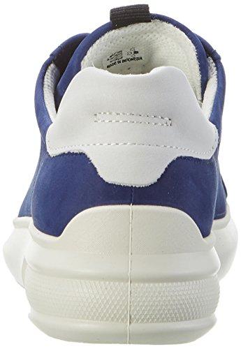 ECCO ECCO Donna 58241medieval Soft Soft Stringate 3 Scarpe 3 White Blu Scarpe gZFWZn