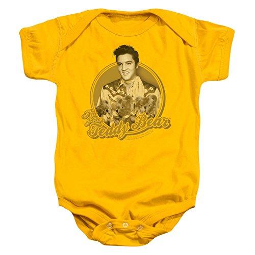 Infant: Elvis Presley - Teddy Bear Onesie Infant Onesie Size 12-18 ()