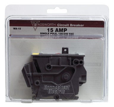 1- WADSWORTH ELECTRIC WA215 CIRCUIT BREAKER 15 AMP for sale  Delivered anywhere in USA