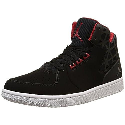 online store 98f08 818ab You  nike air jordan 1 flight 3 mens hi top basketball trainers 706954  sneakers shoes (UK ...