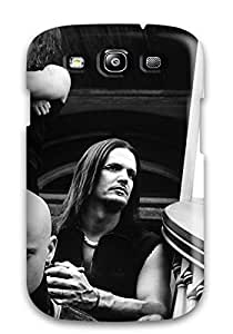 Jimmy E Aguirre's Shop Best 1844361K65147499 Scratch-free Phone Case For Galaxy S3- Retail Packaging - Disturbed