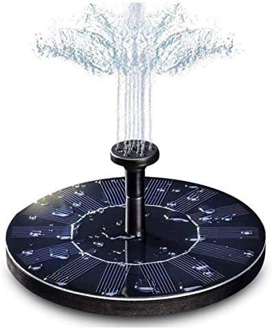 Heaviesk Gartendekoration Wasser schwimmende Solarstrombrunnen Panel Kit Wasserpumpe für Pool Teich Garten Solar Sprinkler