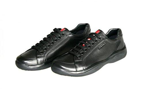 Sneaker Herren nbsp;Leder Prada 4e2649 Turnschuhe 80TIqU