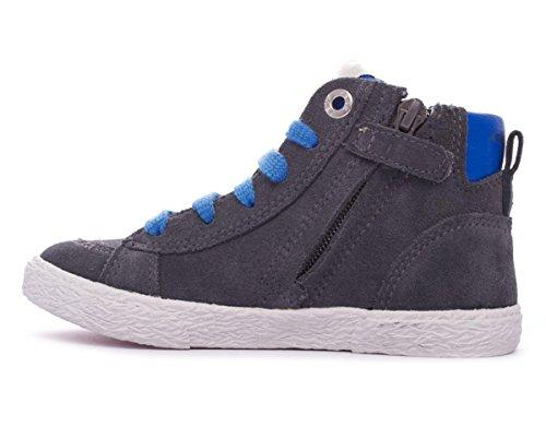 Geox J34A7A 00022 C2276 - Zapatillas de ante para niño