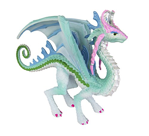 Safari Ltd Princess Dragon - Fire Blue Dragon Breathing