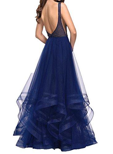Brautmutterkleider Rock Dunkel Damen Abendkleider Lila Linie A Charmant Traube Promkleider Prinzess Festlichkleider Pailletten qSXx4wn
