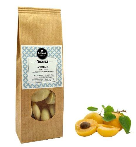 Henosa Aprikosen in weißer Schokolade