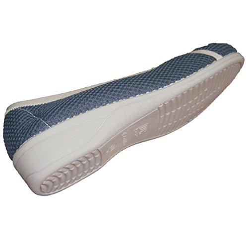 Zapatilla rejilla muy cómoda Doctor Cutillas en gris