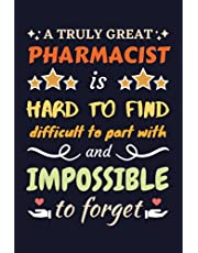Pharmacist Gifts: Blank Lined Notebook Journal Diary Paper, a Funny and Appreciation Gift for Pharmacist to Write in