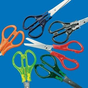 Rainbow Plastic Scissors Fun Express