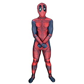 - 41k0WcSGARL - AOVEI Kids Onesie Spandex Mask Cosplay 3D Costume Party Movies Halloween Bodysuits