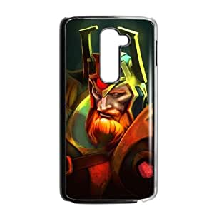LG G2 Cell Phone Case Black Defense Of The Ancients Dota 2 WRAITH KING 006 KWL0570348