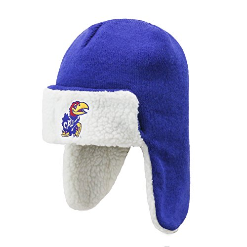 - NCAA Kansas Jayhawks Breck OTS Knit Cap, One Size, Royal