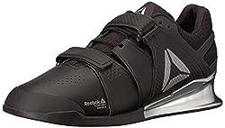Reebok Men's Legacy Lifter Sneaker, Blackwhitesilver, 11.5 M Us