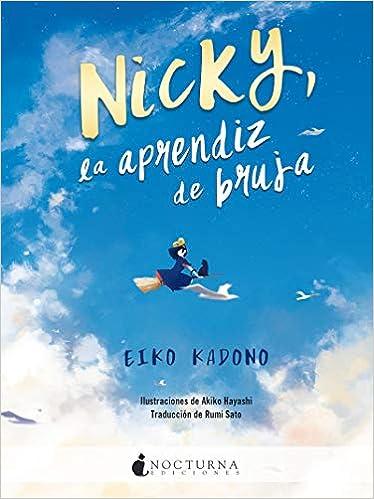 Nicky la aprendiz de bruja de Eiko Kadono