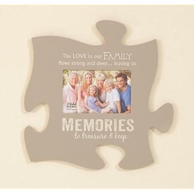 P. Graham Dunn Memories Puzzle Piece Print Frame