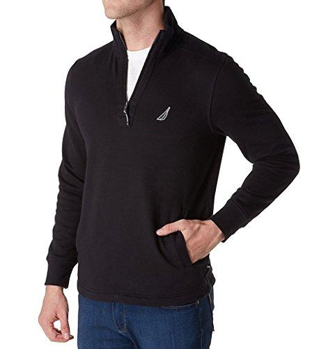Zip Front Mock Neck Sweater - 3