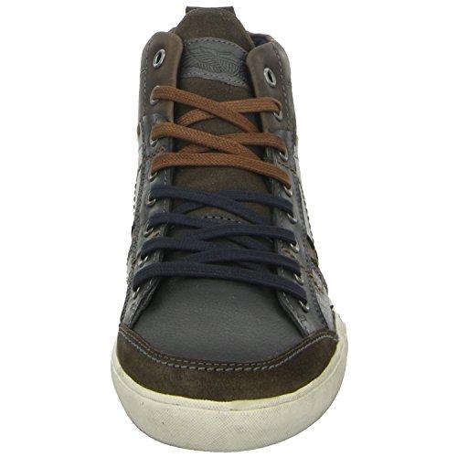 BOXX Z29-Z29-03 Herren Sneaker Blau Leder Weich Gepolstert, Größe 42