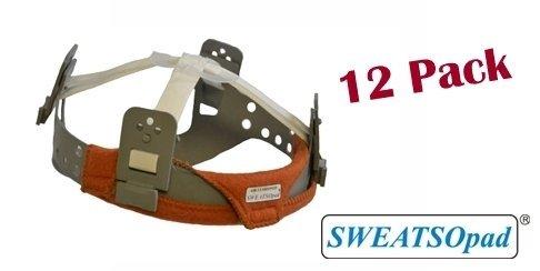 SWEATSOpad® Hard Hat Sweatband - [12 Hard Hat Sweatbands Total] by SWEATSOpad