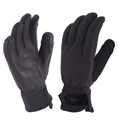 SEALSKINZ Unisex Waterproof All Weather Insulated Glove, Black, One Size