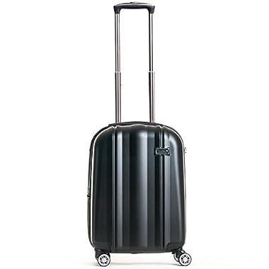 Calpak Winton 20-Inch Hardside Expandable Upright Carry-On, Black, One Size