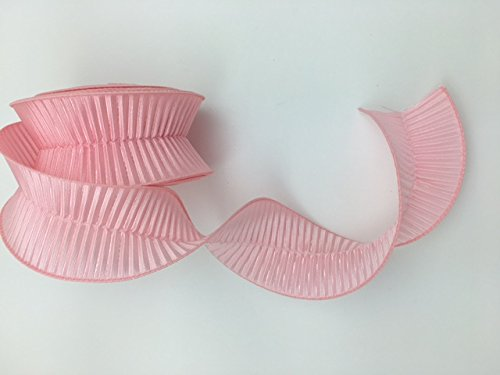 Celebrate IT- Ribbon - Crinkled Textured Ribbon - Pink 2.5 in x ()