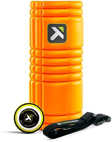 TriggerPoint Performance Mobility Kit with GRID Foam Roller, MB1 Massage Ball, and GRID Strap