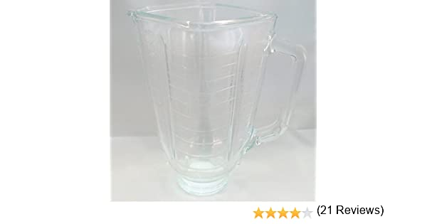 Oster 025843 – 000 – 000 BATIDORA jarra de cristal (cuadrado ...