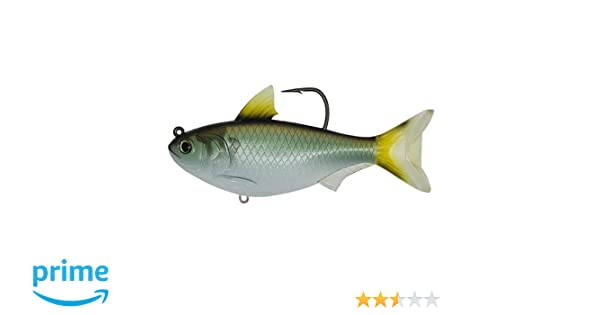 """LiveTarget Lures GZS139MS703 Freshwater Gizzard Shad 5.5/"""" Green /& Bronze Lure"""