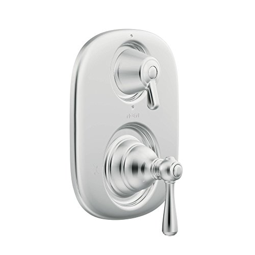 - Moen T4111 Kingsley Moentrol Tub/Shower Transfer Valve Trim Kit without Valve, Chrome (Renewed)