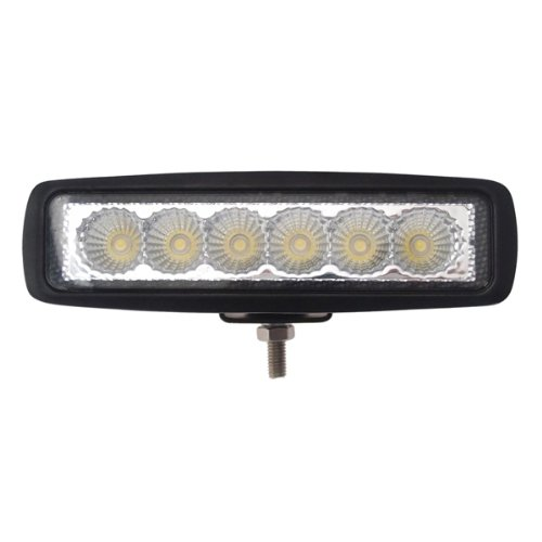 TMH 18w Bar Shape 60 Degree LED Work Light Flood Beam Lamp Driving Light, Jeep, Off-road, 4wd, 4x4, Utv, Sand Rail, Atv, Suv, Motorbike, Motorcycle, Bike, Dirt Bike, Bus, Trailer, Truck, Train, Mining Truck, Excavator, Bulldozer, Crane, Road Roller, Fork Lift, Fire Engine, Police & Rescue Vehicle, Military Vehicle, Camping, Courtyard Lamp, Fishing, Boat, Yacht, Road Lamp, Street Light, Fog Lamp, Day Light