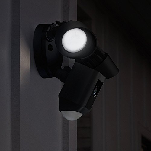 Ring Floodlight Cam | HD Security Camera with Built-in Floodlights, Two-Way Talk and Siren Alarm | With 30-day free…