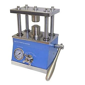 Lab Hydraulic Battery Crimper for Coin Cell Research