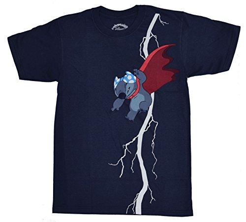 Batman+Shirts Products : Disney Lilo and Stitch Dark Knight T-shirt