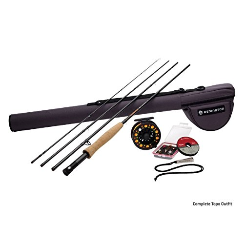 Redington Topo Combo 4Pc 5Wt 9Ft - 5-5010k-490-4