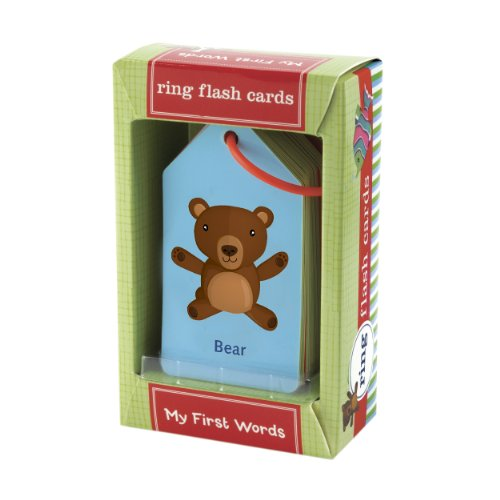 Mudpuppy My First Words Ring Flash Cards (Kids Easter Cards compare prices)