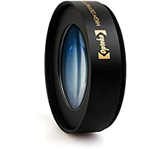 Opteka Achromatic 10x Diopter Close-Up Macro Lens for Canon EOS 80D, 70D, 60D, 50D, 1Ds, 7D, 6D, 5D, 5DS, T6s, T6i, T6, T5i, T5, T4i, T3i, T3 and SL1 Digital SLR Cameras (Fits 52mm and 58mm Threads)