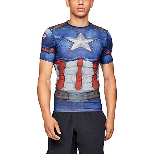 Under Armour Alter Ego Captain America Compression XXX-Large Midnight Navy