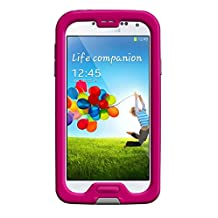 LifeProof FRE Samsung Galaxy S4 Waterproof Case - Retail Packaging - MAGENTA/GREY