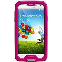 LifeProof FRE Samsung Galaxy S4 Waterproof Case - Retail Packaging - MAGENTA/GREY