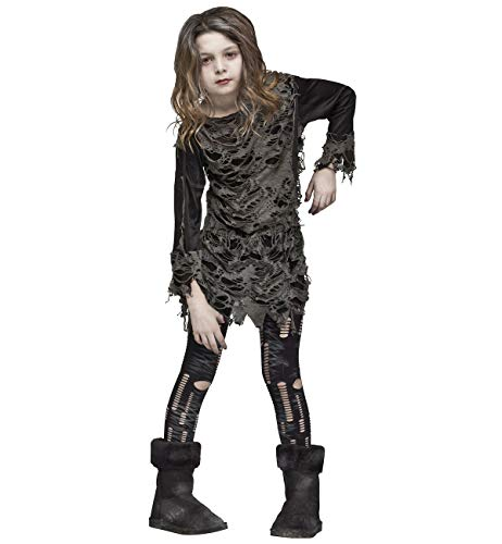 Fun World Big Girl's Walking Zombie Costume Childrens Costume, Multi, Standard]()