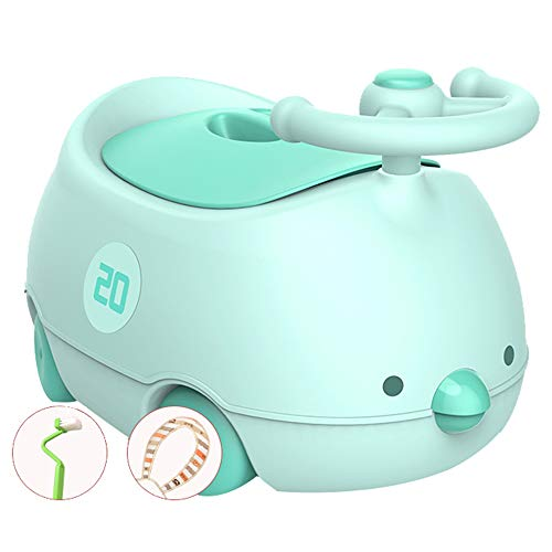 Commode Chair ALY Children's Potty Training Seats, Boys and Girls Large Toilet Seat, Detachable Toilet, Infant, Easy to Clean