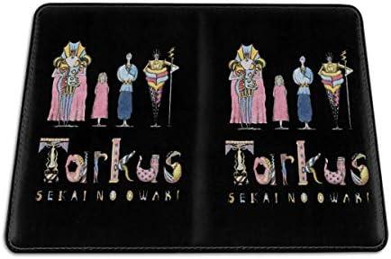 SEKAI NO OWARI 夢幻系樂隊 パスポートケース メンズ 男女兼用 パスポートカバー パスポート用カバー パスポートバッグ 小型 携帯便利 シンプル ポーチ 5.5インチ高級PUレザー 家族 国内海外旅行用品