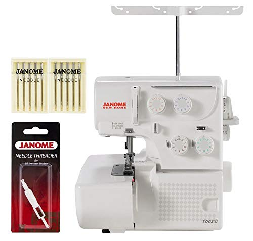 Janome 8002D Serger Includes Bonus Accessories