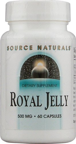 Source Naturals Royal Jelly -- 500 mg - 60 Capsules - 3PC by Source Naturals