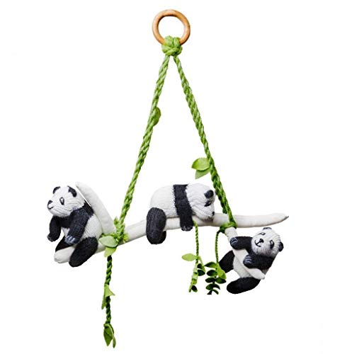 - Panda Friends Baby Mobile and Room Decoration