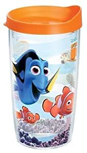 Tervis Wrap Tumbler with Orange Lid, 10-Ounce, Disney Finding Nemo by Tervis Tumbler Company