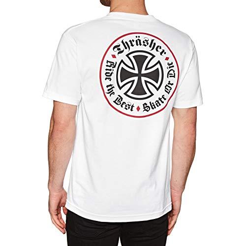 rasher Oath Shirts,Medium,White ()
